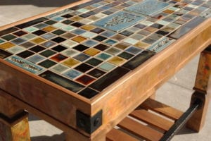 Mosaic Tile Table